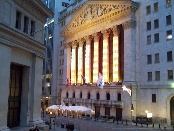 The New York Stock Exchange, photographed on January 12, 2002.Photographed by Luigi Novi