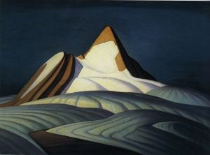 Isolation Peak, Rocky Mountains, 1930 - by Lawren Harris Courtesy of Hart House Permanent Collection, University of Toronto