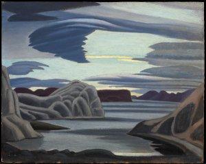 Harbour, South Shore, Baffin Island, Morning - by Lawren Harris Credit NGC_via Family of Lawren S. Harris