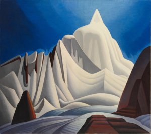 Mountains in Snow Rocky Mountain Paintings VII - by Lawren Harris Credit The Thomson Collection_Art Gallery of Ontario