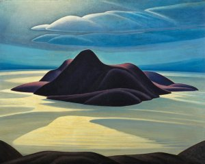 Pic Island by - by Lawren Harris Credit via McMichael Canadian Art Collection
